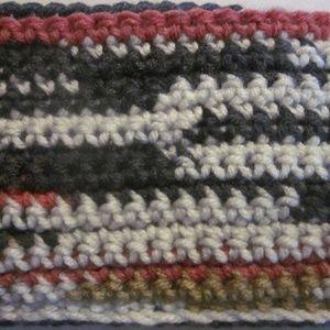 NWOT. Crochet Scarf